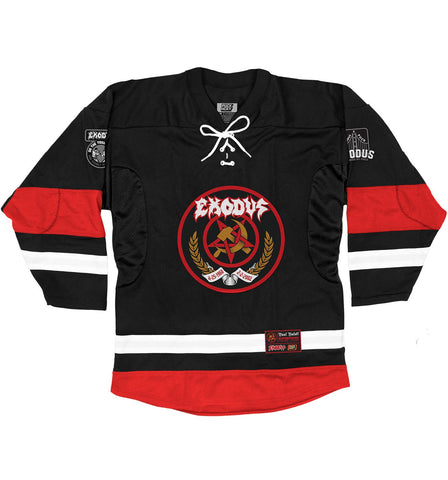 EXODUS 'FABULOUS DISASTER' HOCKEY JERSEY (black)