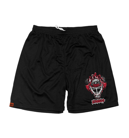 MESHUGGAH 'OFF-ICE TRAINER' MESH HOCKEY SHORTS