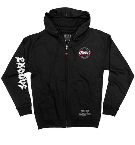 EXODUS 'MASK OF THE BEAST' ZIP HOCKEY HOODIE