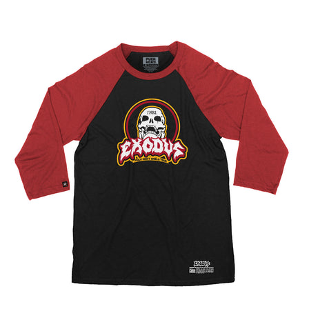 EXODUS 'SKULL-ING THE HERD' HOCKEY JERSEY (BLACK/GOLD)