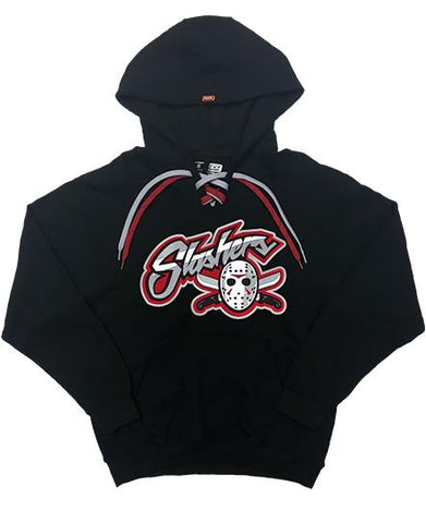 FIRST JASON 'SLASHERS VOORHEES 13' PULLOVER HOCKEY HOODIE