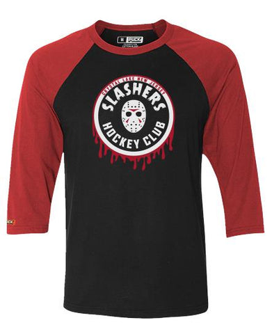 FIRST JASON 'SLASHERS VOORHEES 13' HOCKEY T-SHIRT - Women's