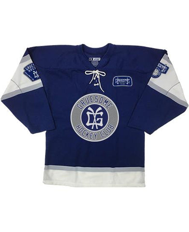 GRUESOME 'DEMONIZED' HOCKEY JERSEY
