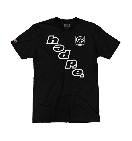 (HED)P.E. 'ON THE DIAG' short sleeve hockey t-shirt in black