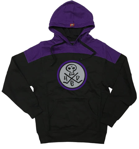 (HED)P.E. 'SKULLY' LACED PULLOVER HOCKEY HOODIE