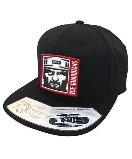 ICE GUARDIANS 'THE SHINING' snapback hockey cap in black