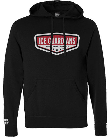 ICE GUARDIANS 'ULTIMATE TEAMMATE' pullover hockey hoodie