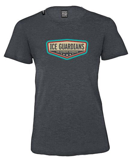 ICE GUARDIANS 'ULTIMATE TEAMMATE' women's short sleeve hockey t-shirt