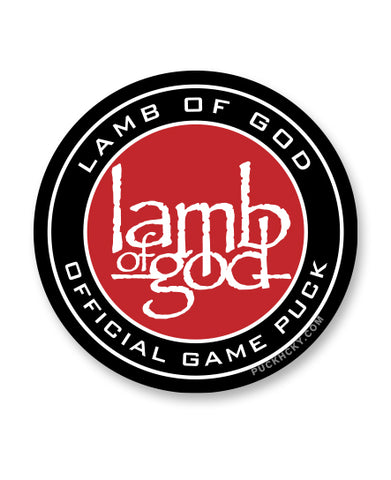 LAMB OF GOD 'ENGAGE THE PUCK MACHINE' MESH BACK HOCKEY CAP