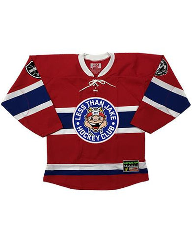 LESS THAN JAKE 'HOCKEY CLUB' HOCKEY JERSEY (ROYAL/GOLD/WHITE)