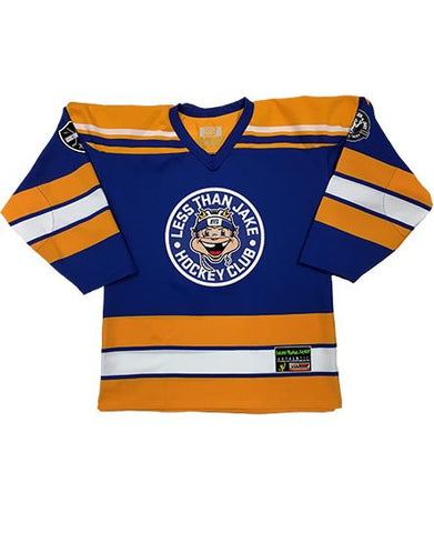 LESS THAN JAKE 'HOCKEY CLUB' HOCKEY JERSEY (RED/ROYAL/WHITE)