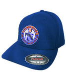MAKING COCO 'FUHR' mesh back hockey cap in royal