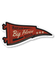 MARIAN HOSSA ''BIG HOSS PENNANT' hockey sticker