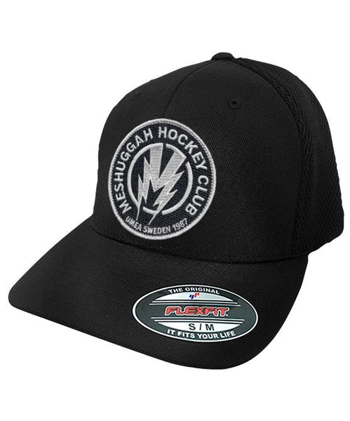 MESHUGGAH 'BOLT' mesh back hockey cap in black