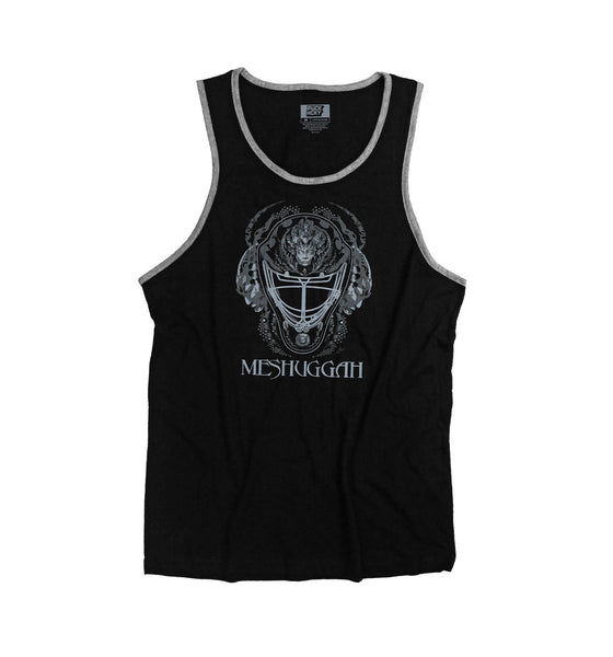 MESHUGGAH 'MASK OF COLOSSUS' tank top in black