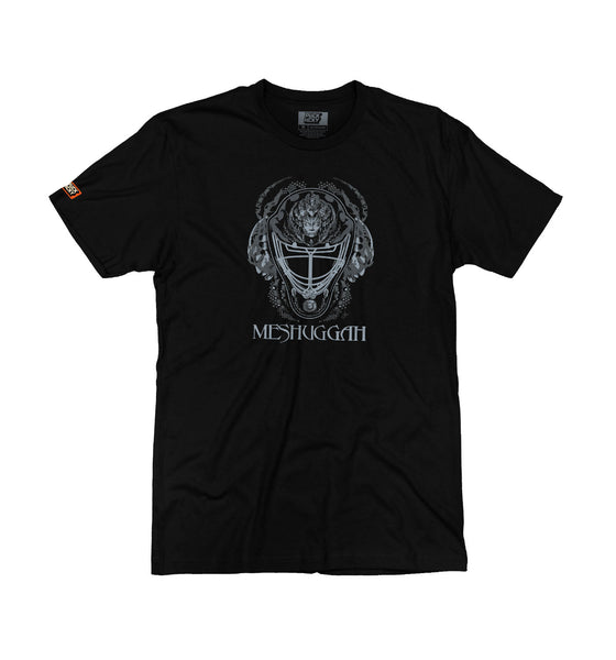 MESHUGGAH 'MASK OF COLOSSUS' short sleeve hockey t-shirt in black