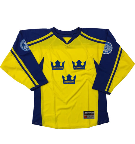 MESHUGGAH 'TRE KRONOR' HOCKEY JERSEY (ROYAL)