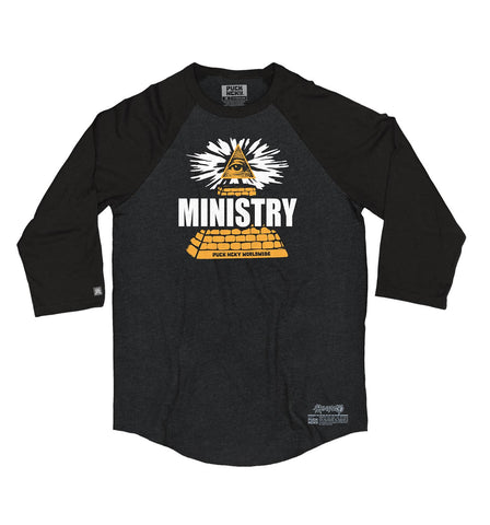 MINISTRY 'UNCLE AL WINDY CITY' PULLOVER HOCKEY HOODIE