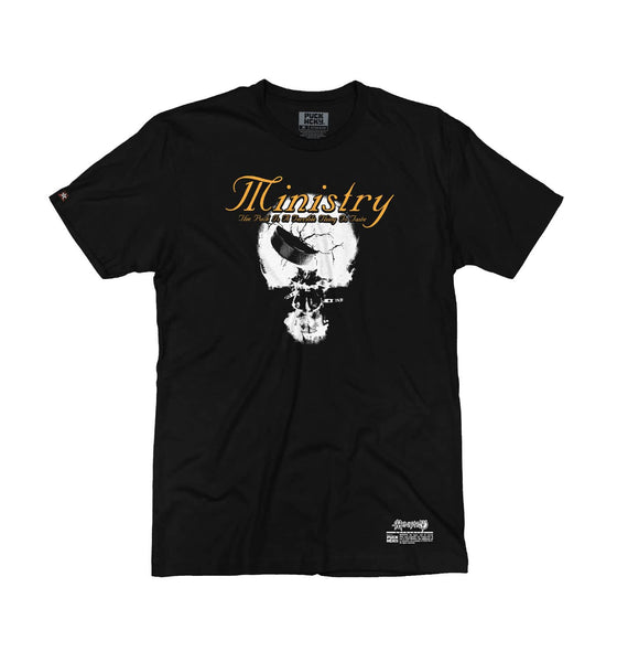 MINISTRY 'TERRIBLE THING TO TASTE' short sleeve hockey t-shirt in black