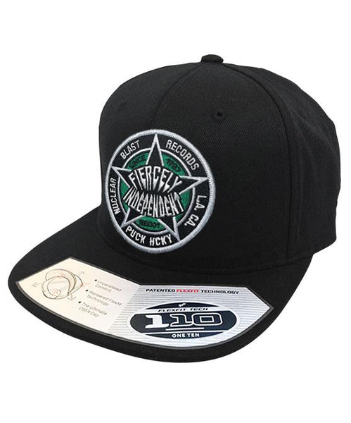NUCLEAR BLAST 'FIERCELY INDEPENDENT' snapback hockey cap in black