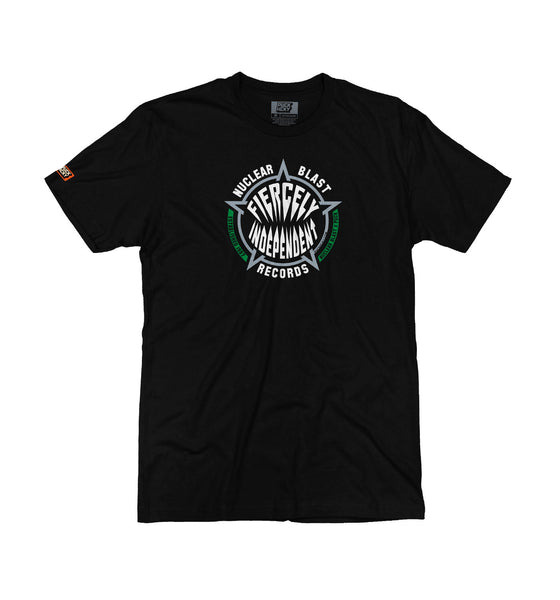 NUCLEAR BLAST 'FIERCELY INDEPENDENT' short sleeve hockey t-shirt in black