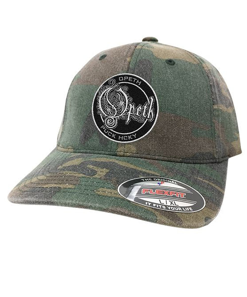 OPETH 'OFFICIAL PUCK' fitted hockey cap in green camo