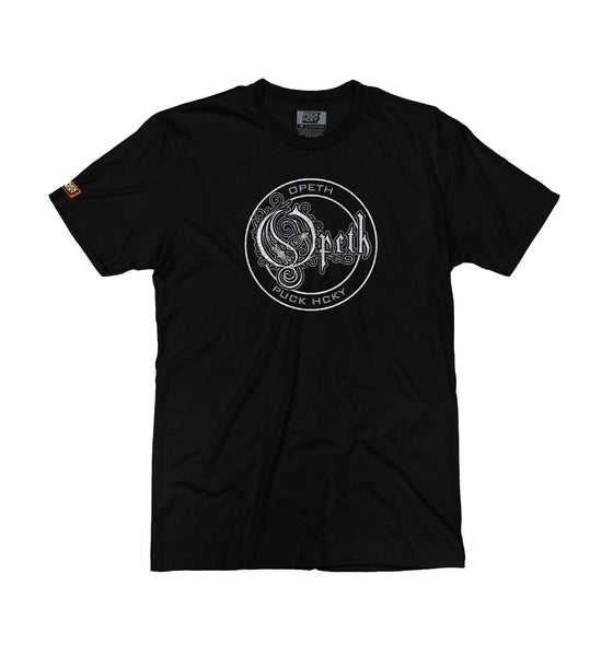 OPETH 'OFFICIAL PUCK' short sleeve hockey t-shirt in black