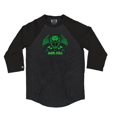 OVERKILL 'THE GREEN AND BLACK' HOCKEY JERSEY