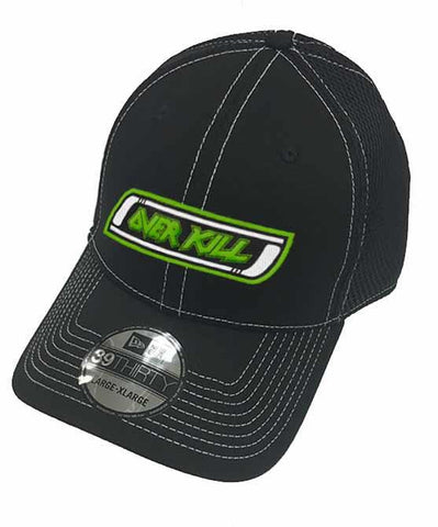 OVERKILL 'DON'T CARE' LIMITED EDITION SNAPBACK HOCKEY CAP AUTOGRAPHED
