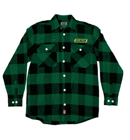 OVERKILL 'DONT' CARE' HOCKEY FLANNEL