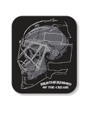 PUCK HCKY 'BROTHERHOOD OF THE CREASE' hockey sticker
