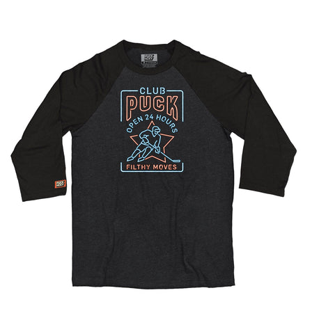 PUCK HCKY 'THIEF' HOCKEY RAGLAN