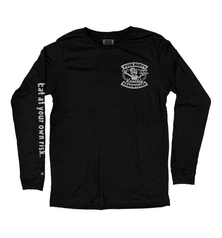 PUCK HCKY 'GLOVES-OFF DELI' HOCKEY T-SHIRT