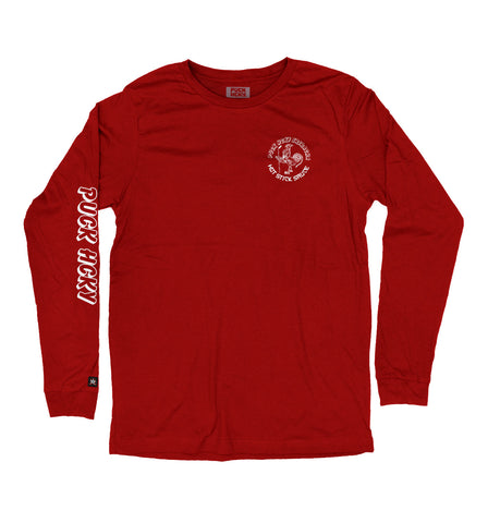 PUCK HCKY 'GLOVES-OFF DELI' LONG SLEEVE HOCKEY T-SHIRT