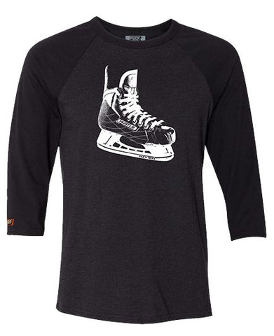 PUCK HCKY 'LACE EM UP' ZIP HOCKEY HOODIE