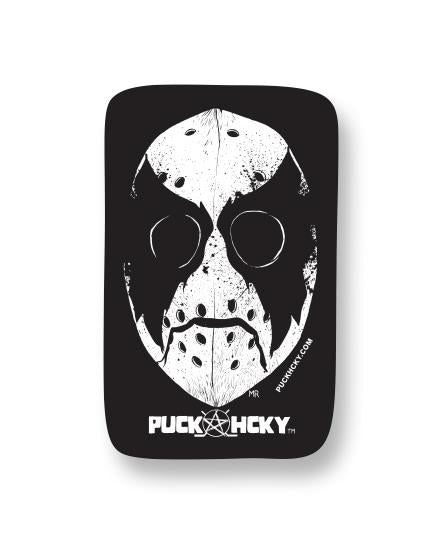 PUCK HCKY 'NONE MORE BLACK' hockey sticker