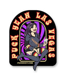 PUCK HCKY 'PIN UPS PUCK YEAH LAS VEGAS' hockey stickers