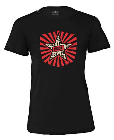 PUCK HCKY 'PUCK PIN-UPS - PIT' HOCKEY T-SHIRT