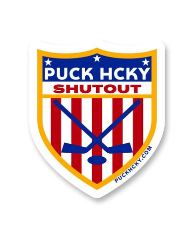 PUCK HCKY 'DRESS FRESH' HOCKEY STICKER
