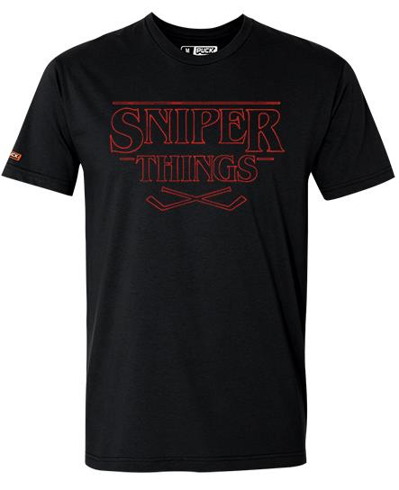 PUCK HCKY 'SNIPER THINGS' HOCKEY T-SHIRT