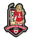 PUCK HCKY 'WORLD CUP CANADA' hockey sticker