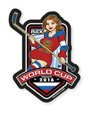 PUCK HCKY 'WORLD CUP RUSSIA' hockey sticker
