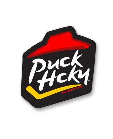 PUCK HCKY 'FAST FOOD' HOCKEY STICKER SET