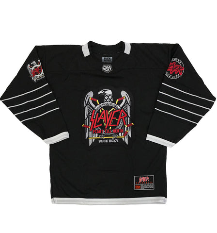 TESTAMENT 'THE LEGACY' HOCKEY JERSEY (BLACK/WHITE/VEGAS)