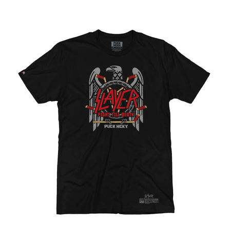 SLAYER 'PROPERTY OF' HOCKEY T-SHIRT