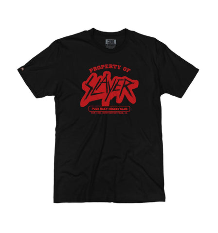 SLAYER 'SHOW NO MERCY' HOCKEY T-SHIRT