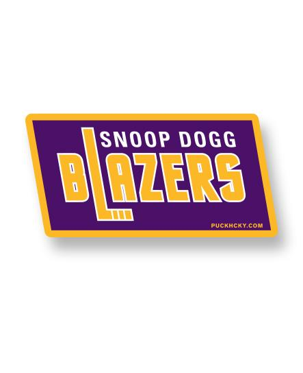 SNOOP DOGG 'BLAZERS' hockey sticker