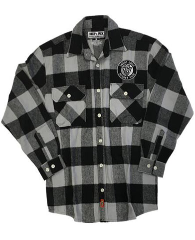 SNOOP DOGG 'BLAZERS' HOCKEY FLANNEL