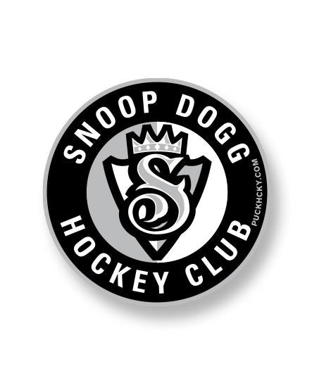 SNOOP DOGG 'THE KING' hockey sticker