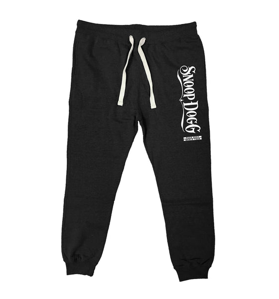 SNOOP DOGG 'WORLD TOUR' performance hockey jogging pants in black heather